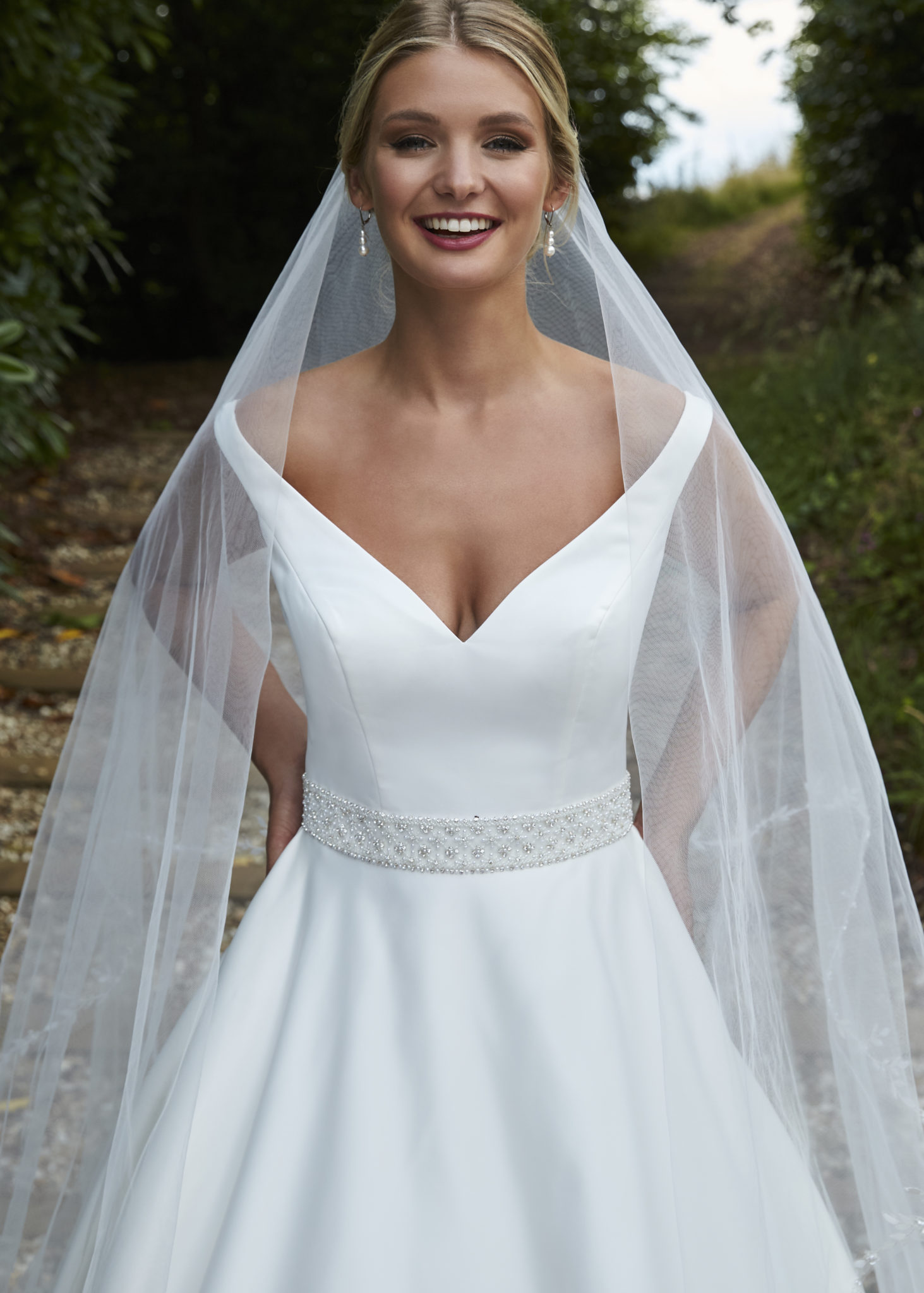 luana a sophisticated bridal ballgown
